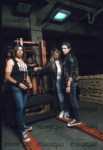 Motorhead - new line up with drummer Mikkey Dee photographed exclusively at Meadowlands New Jersey USA - 03 Sep 1992 - Photo by: Eddie Malluk/IconicPix