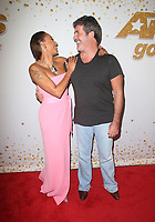HOLLYWOOD, CA - SEPTEMBER 11: Mel B, Simon Cowell, at America&rsquo;s Got Talent Season 13 Live Show Red Carpet at The Dolby Theatre in Hollywood, California on September 11, 2018. CAP/ADM/FS<br /> &copy;FS/ADM/Capital Pictures