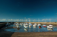 Fisherrow Harbour at dawn, East Lothian