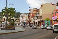Fort-de-France, Martinique.  General de Gaulle Boulevard.