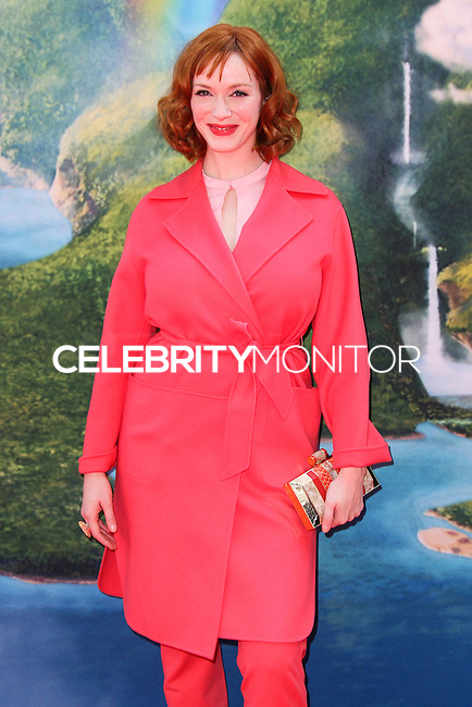 "BURBANK, CA, USA - MARCH 22: Christina Hendricks at the Los Angeles Premiere of DisneyToon Studios' ""The Pirate Fairy"" held at Walt Disney Studios on March 22, 2014 in Burbank, California, United States. (Photo by Xavier Collin/Celebrity Monitor)"