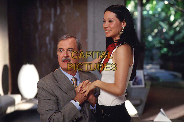 John Cleese plays Alex MundayÕs (Lucy Liu) father in director McGÕs exciting action sequel CharlieÕs Angels¨: Full Throttle .  ..Filmstill - Editorial Use Only.Ref: FB.sales@capitalpictures.com.www.capitalpictures.com.Supplied by Capital Pictures.
