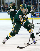 Matt Marshall (Vermont - 17) - The University of Vermont Catamounts defeated the Yale University Bulldogs 4-1 in their NCAA East Regional Semi-Final match on Friday, March 27, 2009, at the Bridgeport Arena at Harbor Yard in Bridgeport, Connecticut.