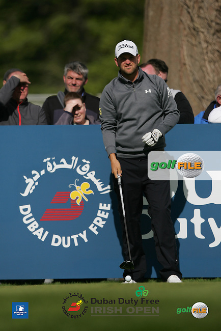 Bernd Wiesberger (AUT) during Wednesday's Pro-Am ahead of the 2016 Dubai Duty Free Irish Open Hosted by The Rory Foundation which is played at the K Club Golf Resort, Straffan, Co. Kildare, Ireland. 18/05/2016. Picture Golffile | TJ Caffrey.<br /> <br /> All photo usage must display a mandatory copyright credit as: &copy; Golffile | TJ Caffrey.