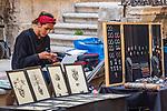 Artisan near Piazza Duomo, Ortigia, Sicily