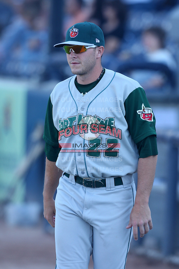 Fort Wayne TinCaps Allen Marona during a game vs. the West Michigan Whitecaps at Fifth Third Field in Comstock Park, Michigan August 18, 2010.   Fort Wayne defeated West Michigan 5-1.  Photo By Mike Janes/Four Seam Images