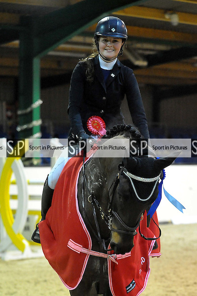 Class 5. Area 40 British Showjumping Seniors. Brook Farm Training Centre. Essex. 13/12/2015. MANDATORY Credit Ellie Ingram/Sportinpictures - NO UNAUTHORISED USE - 07837 394578