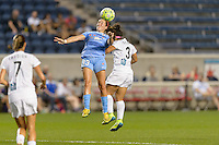 Chicago, IL - Wednesday Sept. 07, 2016: Amanda Da Costa, Desiree Scott during a regular season National Women's Soccer League (NWSL) match between the Chicago Red Stars and FC Kansas City at Toyota Park.