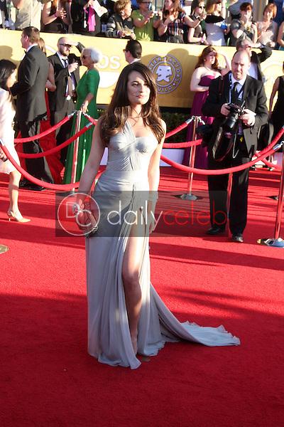 Lea Michele<br /> at the 18th Annual Screen Actors Guild Awards Arrivals, Shrine Auditorium, Los Angeles, CA 01-29-12<br /> David Edwards/DailyCeleb.com 818-249-4998