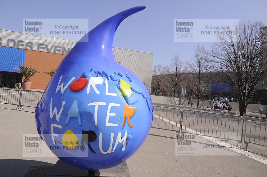 Marsiglia (Francia), Forum Mondiale dell' Acqua<br /> <br /> Marseille (France), World  Water Forum