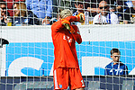 Julian Pollersbeck (Hamburger SV, #13) im Tor beim Spiel in der Fussball Bundesliga, TSG 1899 Hoffenheim - Hamburger SV.<br /> <br /> Foto &copy; PIX-Sportfotos *** Foto ist honorarpflichtig! *** Auf Anfrage in hoeherer Qualitaet/Aufloesung. Belegexemplar erbeten. Veroeffentlichung ausschliesslich fuer journalistisch-publizistische Zwecke. For editorial use only.