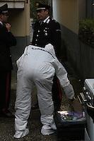 NAPOLI, ITALIA, 02.11.2016 - CRIME-ITALIA - Corpo de uma mulher foi encontrado amarrado e amordaçado no bairro de Villaricca em Napoli na Italia nesta quarta-feira, 02.(Foto: Salvatore Esposito/Brazil Photo Press)