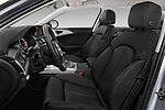 Front seat view of a 2018 Audi A6 Base 4 Door Sedan front seat car photos
