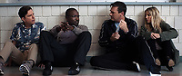 Tag (2018)  <br /> ED HELMS as Hogan &quot;Hoagie&quot; Malloy, HANNIBAL BURESS as Kevin Sable, JON HAMM as Bob Callahan and ANNABELLE WALLIS as Rebecca Crosby<br /> *Filmstill - Editorial Use Only*<br /> CAP/MFS<br /> Image supplied by Capital Pictures