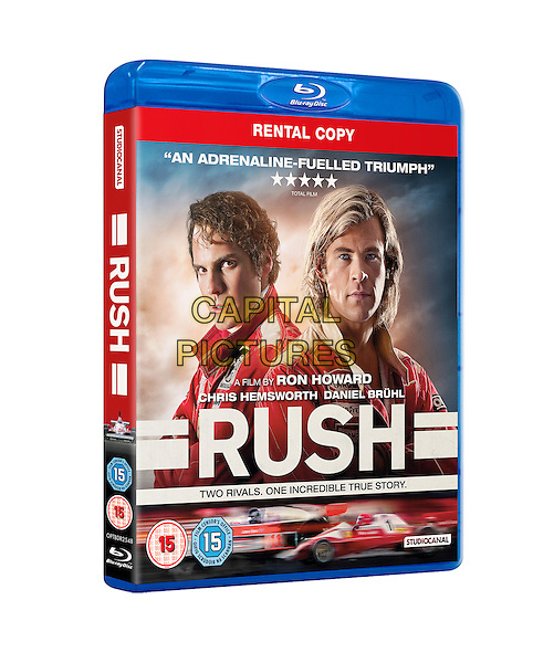 BLU RAY COVER ART<br /> in Rush (2013) <br /> *Filmstill - Editorial Use Only*<br /> CAP/NFS<br /> Image supplied by Capital Pictures