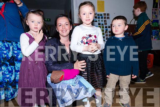 Alisha, Sylvia, Erin and JJ Curran enjoying Féile Lios Póil over the weekend.