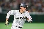 Seiji Kobayashi (JPN), <br /> MARCH 14, 2017 - WBC : <br /> 2017 World Baseball Classic <br /> Second Round Pool E Game <br /> between Japan 8-5 Cuba <br /> at Tokyo Dome in Tokyo, Japan. <br /> (Photo by YUTAKA/AFLO SPORT)