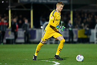 Ben Amos of Charlton Athletic during the Sky Bet League 1 match between AFC Wimbledon and Charlton Athletic at the Cherry Red Records Stadium, Kingston, England on 10 April 2018. Photo by Carlton Myrie / PRiME Media Images.