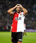 Nederland, Rotterdam, 15 september 2012.Eredivisie.Seizoen 2012-2013.Feyenoord-PEC Zwolle<br /> Graziano Pelle van Feyenoord baalt.