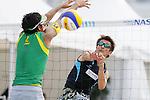 Koichi Nishimura, MAY 6, 2012 - Beach Volleyball : JBV Tour 2012 Sports Club NAS Open  Men's final at Odaiba Beach, Tokyo, Japan. (Photo by Yusuke Nakanishi/AFLO SPORT) [1090]
