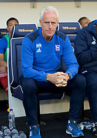 Mick McCarthy Manager of Ipswich Town during the Sky Bet Championship match between Millwall and Ipswich Town at The Den, London, England on 15 August 2017. Photo by Alan  Stanford / PRiME Media Images.