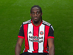 Clayton Donaldson of Sheffield Utd during the 2017/18 Photocall at Bramall Lane Stadium, Sheffield. Picture date 7th September 2017. Picture credit should read: Sportimage