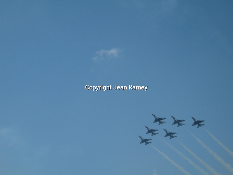 Blue Angels over Chicago