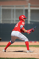 Cincinnati Reds Carlos Rivero (95) during an Instructional League game against the Texas Rangers on October 4, 2016 at the Surprise Stadium Complex in Surprise, Arizona.  (Mike Janes/Four Seam Images)