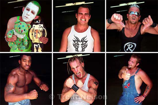 Hometown World Wrestling performers<br />