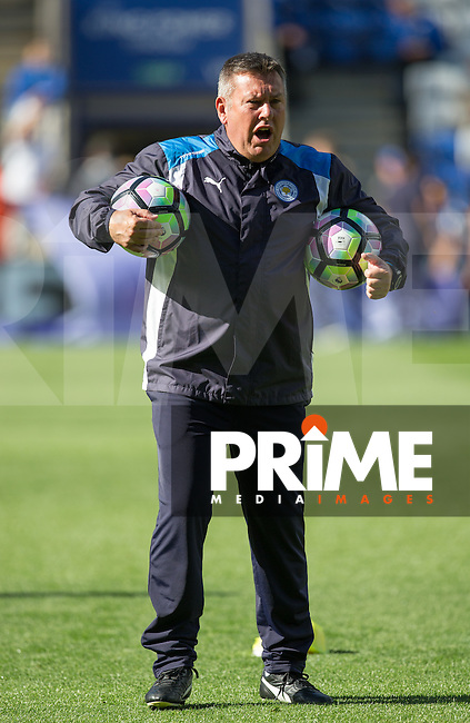 Craig Shakespeare Assistant Manager of Leicester City during the Premier League match between Leicester City and Southampton at the King Power Stadium, Leicester, England on 2 October 2016. Photo by Andy Rowland.