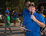 Microsoft Reno General Manager Owen Roberts speaks at the Microsoft 8th Annual Charity Golf Tournament held at Red Hawk Golf and Resort in Sparks on Friday, August 19, 2016.