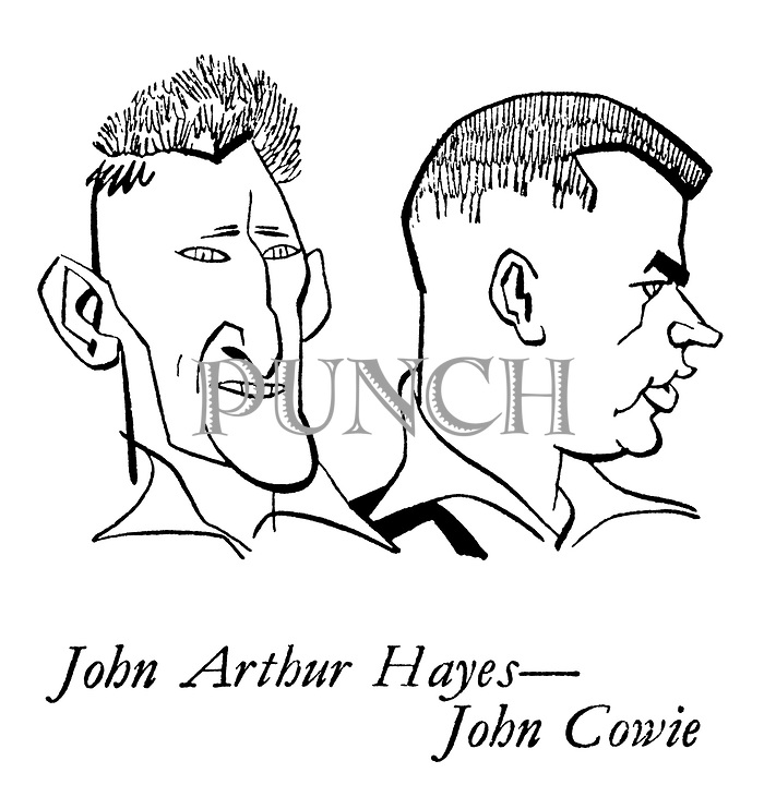 The New Zealanders ; the cricket team on tour<br /> Cricketers ; John Arthur Hayes and John Cowie
