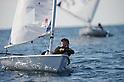 Saki Matsunae, FEBURARY 12, 2012 - Sailing : 2012 Int Laser Radial Class Japan National team and the World Championship team selection race, at Hayama, Kanagawa, Japan. ..(Photo by Atsushi Tomura/AFLO SPORT) [1035]