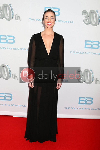 """Ashleigh Brewer<br /> at the """"The Bold and The Beautiful"""" 30th Anniversary Party, Clifton's Downtown, Los Angeles, CA 03-18-17<br /> David Edwards/DailyCeleb.com 818-249-4998"""