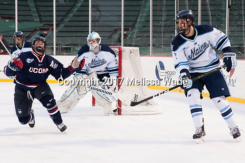 Spencer Naas (UConn - 8), Patrick Holway (Maine - 2) - The University of Maine Black Bears defeated the University of Connecticut Huskies 4-0 at Fenway Park on Saturday, January 14, 2017, in Boston, Massachusetts.