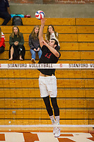 STANFORD, CA - January 2, 2018: Kevin Rakestraw at Burnham Pavilion. The Stanford Cardinal defeated the Calgary Dinos 3-1.