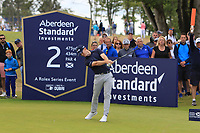 Brandon Stone (RSA) on the 2nd during Round 4 of the Aberdeen Standard Investments Scottish Open 2019 at The Renaissance Club, North Berwick, Scotland on Friday 12th July 2019.<br /> Picture:  Thos Caffrey / Golffile<br /> <br /> All photos usage must carry mandatory copyright credit (© Golffile | Thos Caffrey)