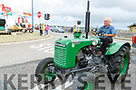Gerry Clifford from Tralee on his tractor at the Blennerville Trashing Festival on Sunday.