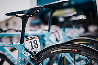 Team AG2R-La Mondiale bikes at the race start <br /> <br /> stage 14 San Vito al Tagliamento &ndash; Monte Zoncolan (186 km)<br /> 101th Giro d'Italia 2018