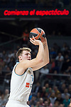 Real Madrid Luka Doncic during Turkish Airlines Euroleague match between Real Madrid and CSKA Moscu at Wizink Center in Madrid, Spain. October 19, 2017. (ALTERPHOTOS/Borja B.Hojas)
