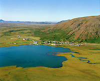 Laugarvatn séð til vesturs, Bláskógabyggð áður Laugardalshreppur / Laugarvatn viewing west. Blaskogabyggd former Laugardalshreppur.