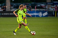 Kansas City, MO - Saturday June 17, 2017: Beverly Yanez during a regular season National Women's Soccer League (NWSL) match between FC Kansas City and the Seattle Reign FC at Children's Mercy Victory Field.