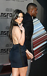 "WESTWOOD, CA. - June 22: Kim Kardashian and Reggie Bush arrive at the 2009 Los Angeles Film Festival - The Los Angeles Premiere of ""Transformers: Revenge of the Fallen"" at Mann's Village Theater on June 22, 2009 in Los Angeles, California."