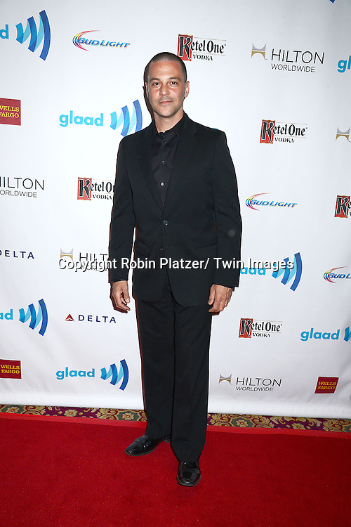 David Bashe attends the 25th Annual GLAAD Media Awards at the Waldorf Astoria Hotel in New York City, NY on May 3, 2014.
