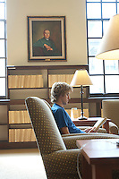 Richard Infantino, '11<br /> Ahmanson Reading Room. Photo from Occidental College's Mary Norton Clapp Library, September 9, 2008, Los Angeles, Calif. (Photo by Marc Campos, College Photographer)