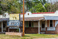 The old West Winds Motel on Route 66 in Erick Oklahoma is no longer catering to travels, but serves as a private residence.  The building was listed in the National Register of Historic Places in 2004.