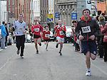 Sean O'Brien, Alijca Dembna, Derek Cummins, Ciaran McCann, Grainne Smith taking part n the Saint Vincent de Paul 5Km run. Photo: Colin Bell/pressphotos.ie