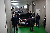Tokyo, Japan - November 14, 2009 -- United States President Barack Obama walks to the presidential limousine prior to departing Suntory Hall en route to the Hotel Okura in Tokyo, Japan, Saturday, November 14, 2009.   .Mandatory Credit: Pete Souza - White House via CNP