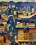 Le Porte de Sete<br /> 20x16 Acrylic on Canvas<br /> $8,500