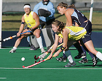 Saturday November 13th, 2010. The University of Michigan Field Hockey team was defeated 1-0  by Old Dominion University in the first round of the NCAA Field Hockey Tournament.